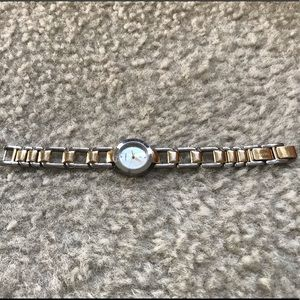 Fossil F2 Stainless Steel Watch ( gold/silver)